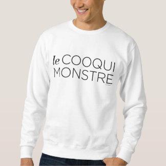 Sweatshirt Black le Cooqui Monstre