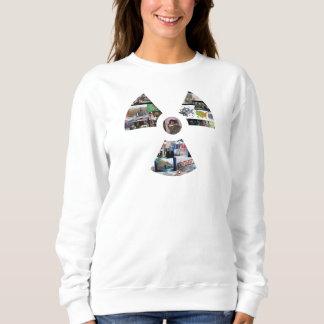 Sweatshirt blanc de classique de symbole du