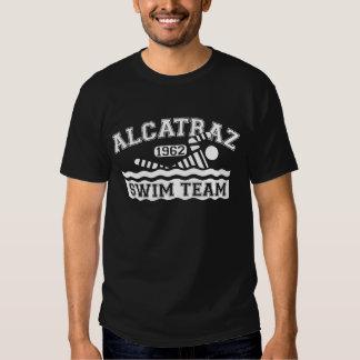 Sweatshirt blanc d'équipe de natation d'Alcatraz