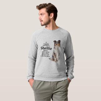 Sweatshirt bleu de Merle Sheltie de Timmy