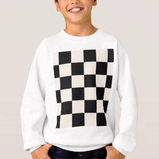 Sweatshirt Blocs kaki géniaux de noir