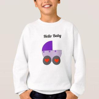 Sweatshirt Bonjour bébé