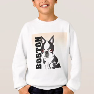 Sweatshirt Boston Terrier