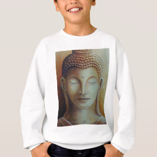 SWEATSHIRT BOUDDHA D'OR
