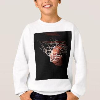 Sweatshirt Boule de basket-ball dans l'action