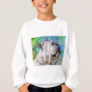 Sweatshirt BOULEDOGUE .2 d'aquarelle