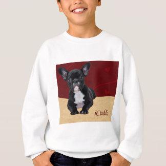 Sweatshirt bouledogue français d'iCuddle