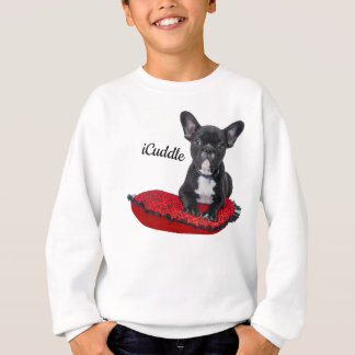 Sweatshirt Bouledogue français d'iCuddle adorable