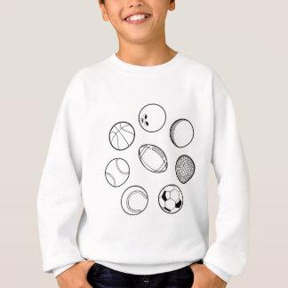 Sweatshirt Boules de sports réglées