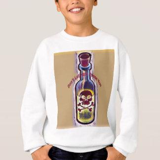 Sweatshirt Bouteille toxique de la médecine #45 d'anti