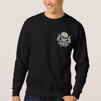 Sweatshirt Brodé Art 2 de crâne