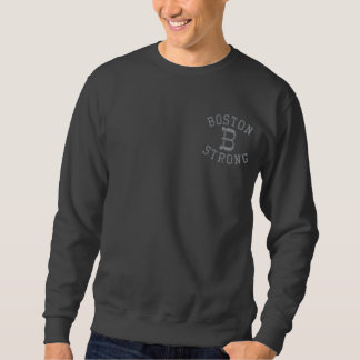 Sweatshirt Brodé Boston fort