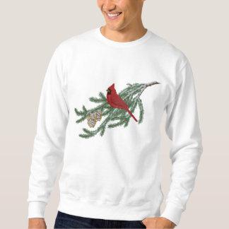 Sweatshirt Brodé Cardinal de pin