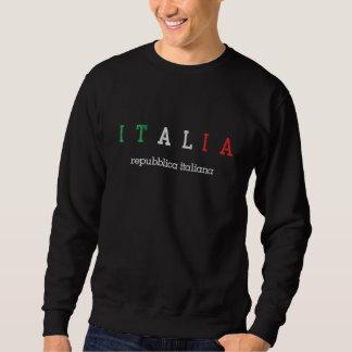 Sweatshirt Brodé L'ITALIE (Italie), italiana de Repubblica