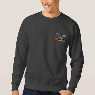 Sweatshirt Brodé Sueur Roger de Cabernet CHA d'Edition spéciale