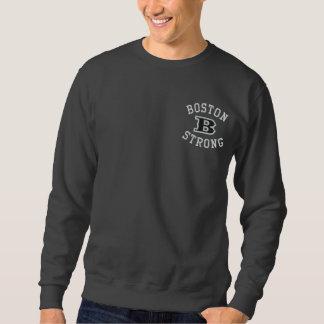 Sweatshirt Broderie brodée forte de Boston B