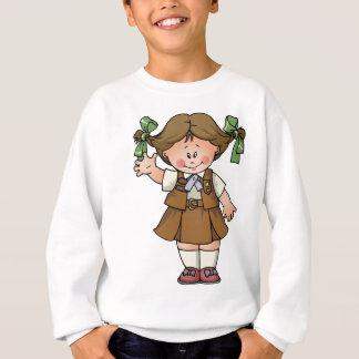 """Sweatshirt Brune de """"brownie"""""""
