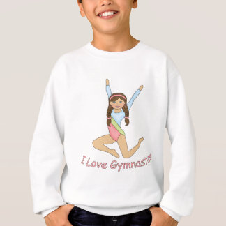 Sweatshirt Brune de gymnastique