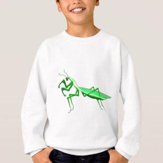 Sweatshirt cadeaux attaquants de mante de vert de Valxart.com