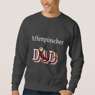 Sweatshirt Cadeaux d'Aparrel de papa d'Affenpinshcer