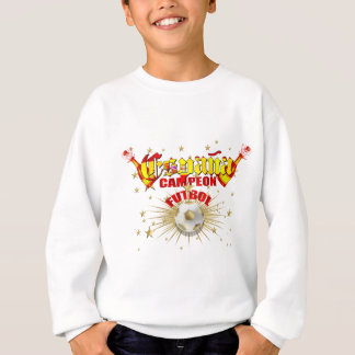 Sweatshirt Cadeaux de football d'España Campeon