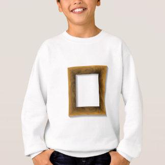 Sweatshirt cadre en bois