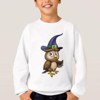 Sweatshirt Caractère de hibou de bande dessinée
