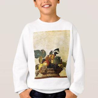Sweatshirt Caravaggio - panier de fruit - illustration