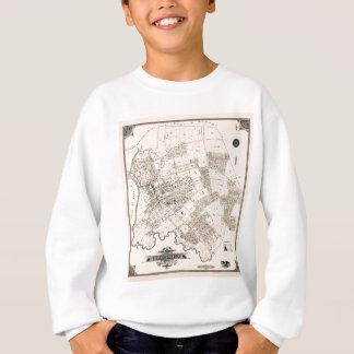 Sweatshirt Carte vintage de rincer 1894