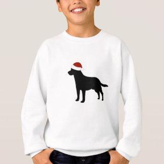 Sweatshirt Casquette de Labrador Père Noël