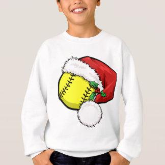 Sweatshirt Casquette de Père Noël du base-ball