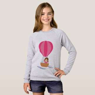 Sweatshirt « Cathy and the Cat » en globe