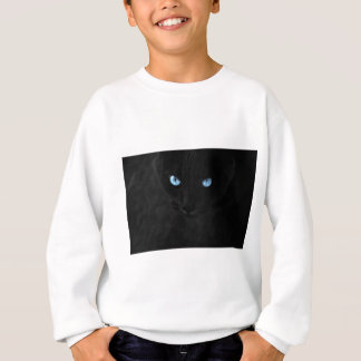 Sweatshirt cats blue eyes