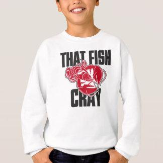 Sweatshirt Ce poisson Cray