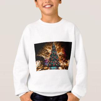 Sweatshirt célébration d'arbre et de lumière de Noël