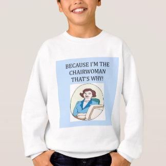 Sweatshirt CEO de dame