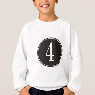 Sweatshirt Cercle #4 noir