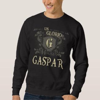 Sweatshirt Chambre GASPAR. Chemise de cadeau pour