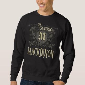 Sweatshirt Chambre MACKINNON. Chemise de cadeau pour