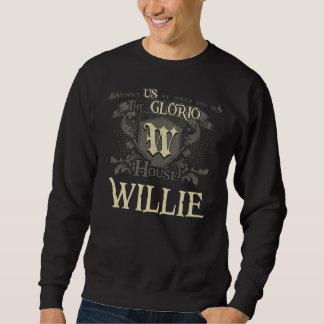 Sweatshirt Chambre WILLIE. Chemise de cadeau pour