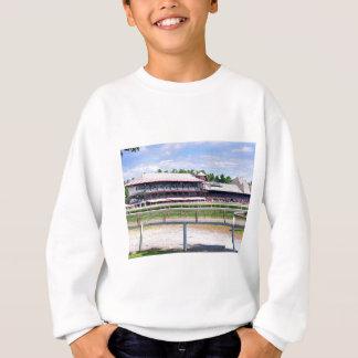 Sweatshirt Champ de courses de Saratoga et cour de Clare