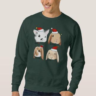 Sweatshirt Chandail de Noël de groupe de lapin