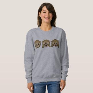 Sweatshirt Chandail Emoji Barboteuses