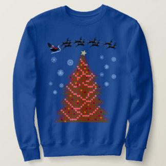 Sweatshirt Chandail laid de Noël