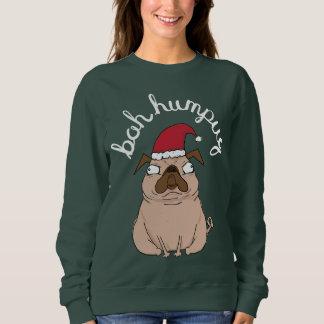 Sweatshirt Chandail laid de Noël de carlin drôle de