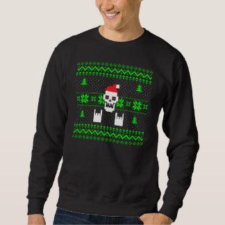 Sweatshirt Chandail laid de Noël en métal