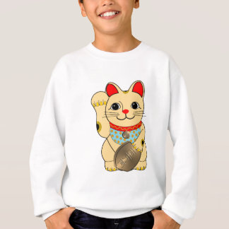 Sweatshirt Chat d'or
