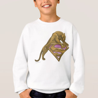 Sweatshirt Chat d'or de Supergirl