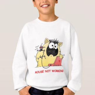 Sweatshirt Chat drôle