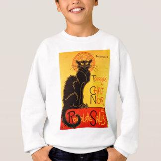 Sweatshirt Chat noir de Vintage Tournee de Chat Noir